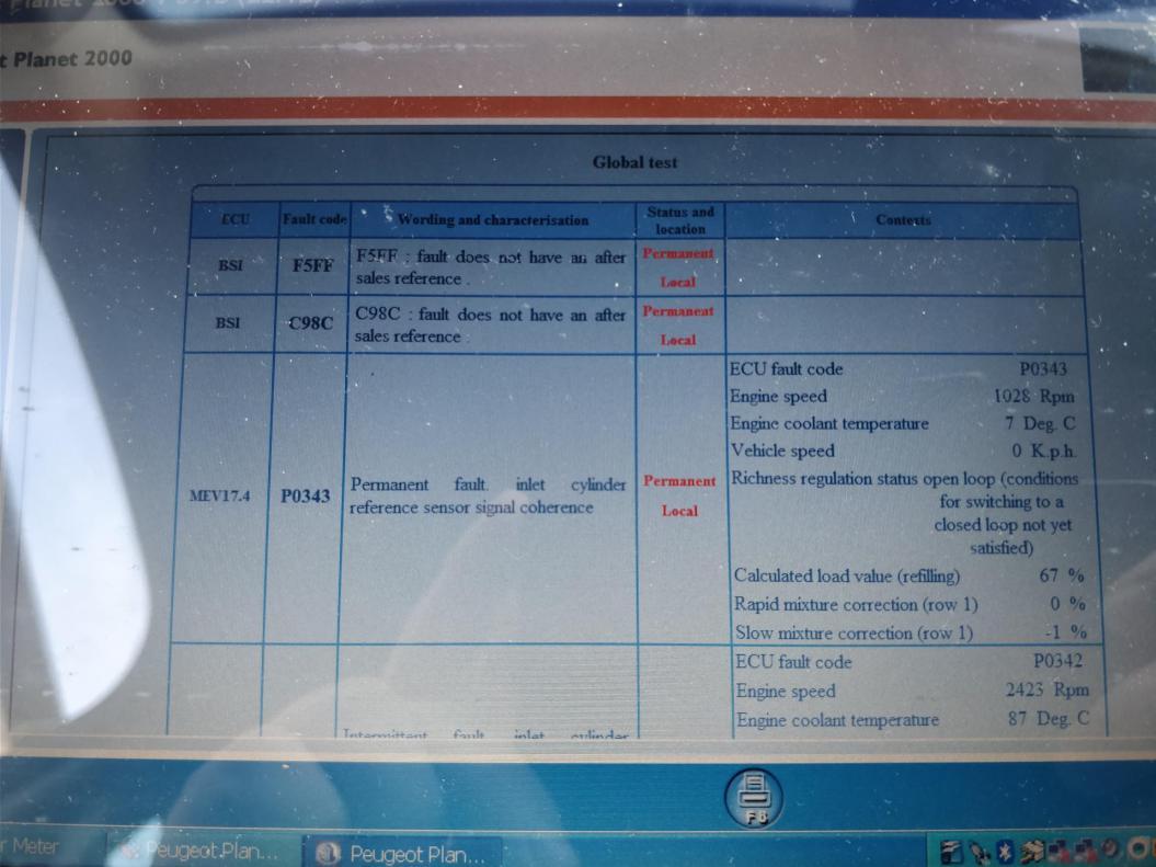 EML on 207 = 2010 plate - Peugeot Forums
