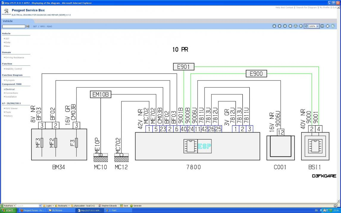 Peugeot 307 Engine Fuse Box Fault Wiring Diagram I Need A For Going Library