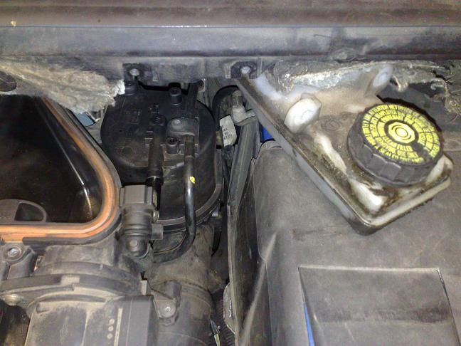 Replacing fuel filter 1.4hdi 307(NO BATTERY REMOVAL) - Peugeot Forums