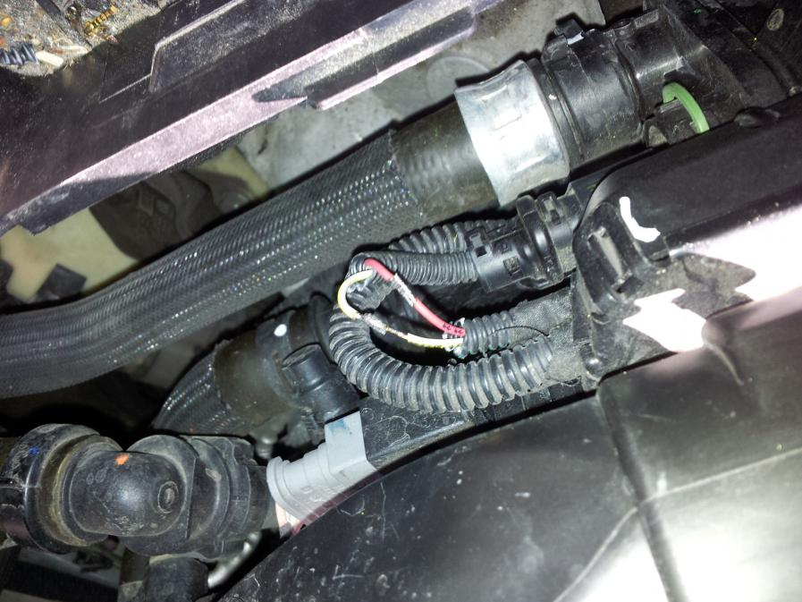 Protect wiring loom from the dreaded water rot Peugeot Forums
