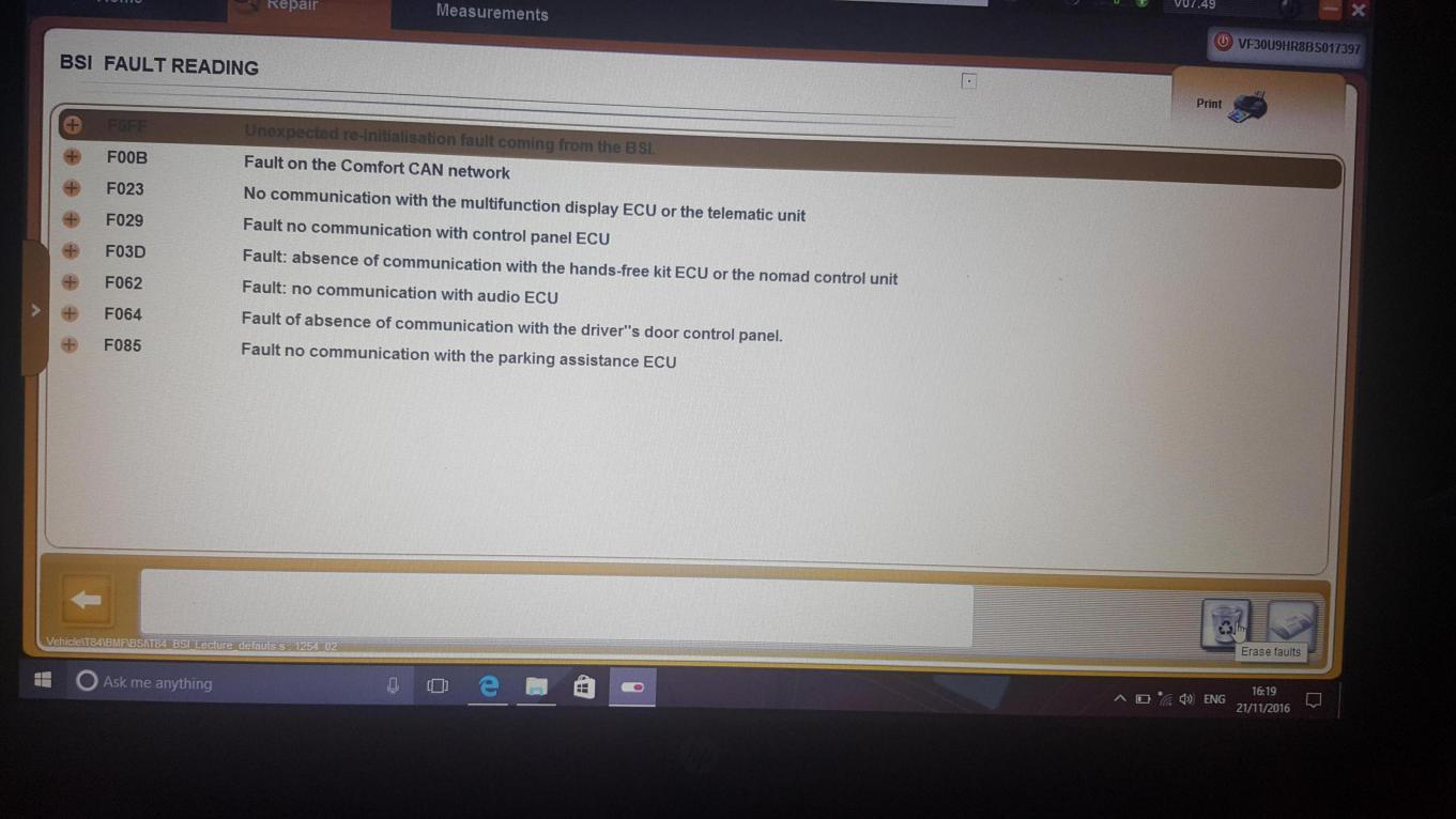Peugeot 3008 corrupted bsi files - Peugeot Forums