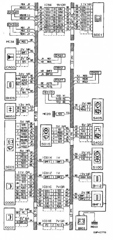 Wiring Diagram For Peugeot 306 Hdi : Rain sensor wiper wiring diagram needed