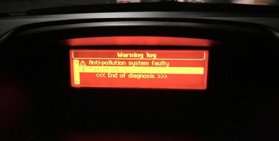 Anti pollution system faulty error - 2010 207cc - Peugeot Forums
