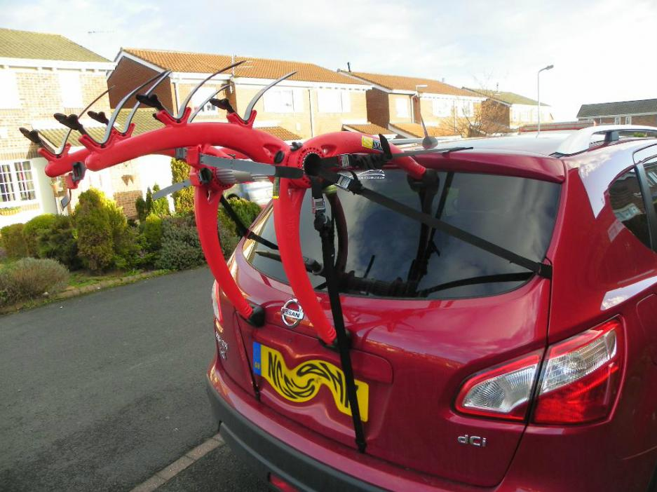 Bike Rack On Rear Can I Use One Peugeot Forums