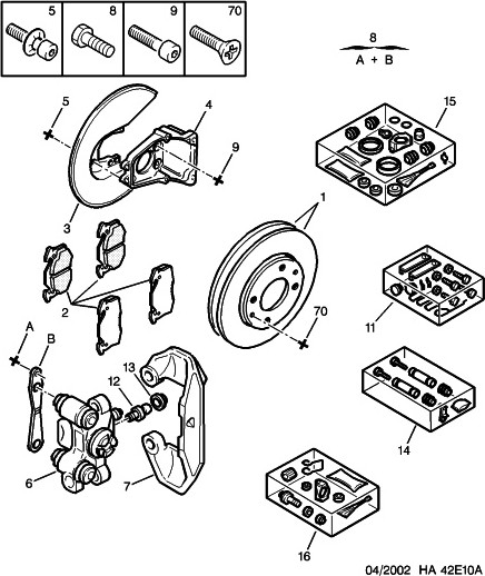 rear brake discs and pads - peugeot forums