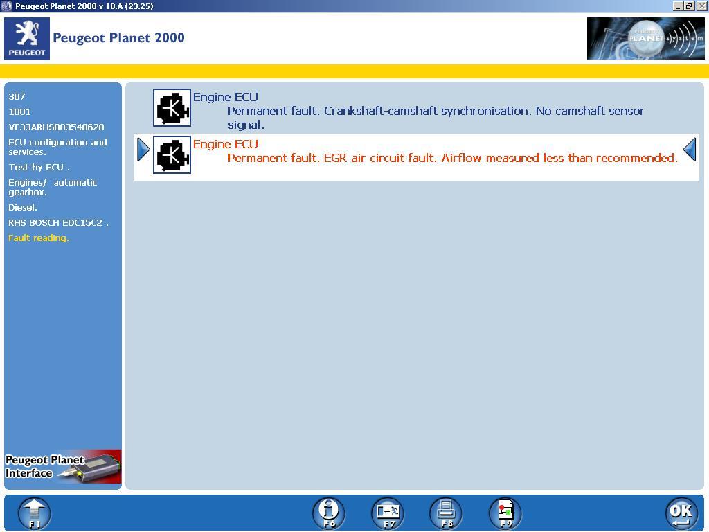 307 2 0 110 fault codes P0120,P0401,P0340  - Peugeot Forums