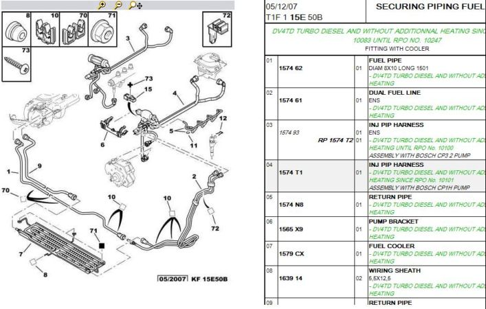 diesel hand primer non return valve where and what is it how easy to rh peugeotforums com peugeot 307 fuel system diagram peugeot 306 fuel pump wiring diagram