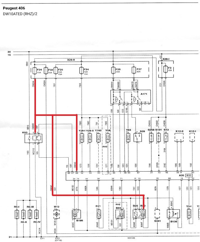 Peugeot Forums View Single Post 406 D9 110hdi April 2000 Cut Snatch Block Diagrams Wiring Diagram: Peugeot 406 Wiring Diagram At Anocheocurrio.co