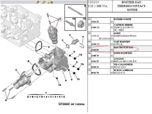 P1598 Cooling Circuit By Pass Electrovalve Peugeot Forums