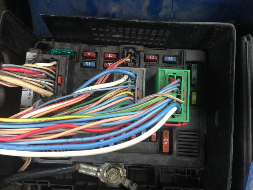 Fuse Box On A Peugeot 307 Wiring Diagrams Mon