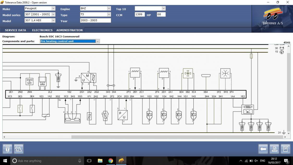 1 4 Hdi Glow Plug Relay Circuit Diagram