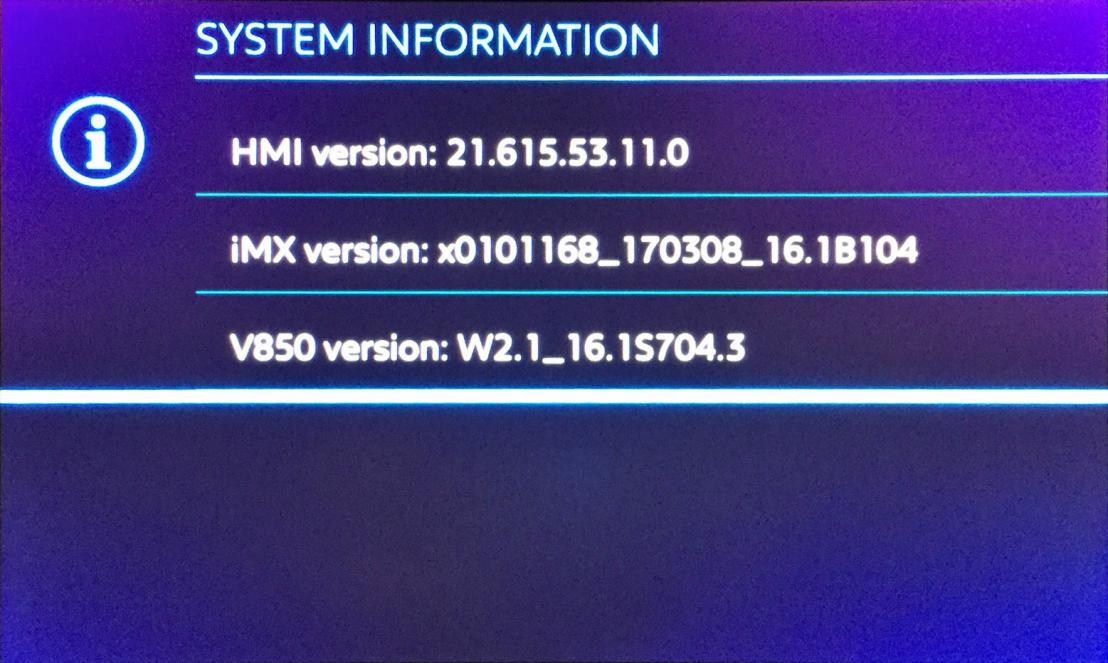 New firmware/system version: 21 07 16 32 - Page 4 - Peugeot