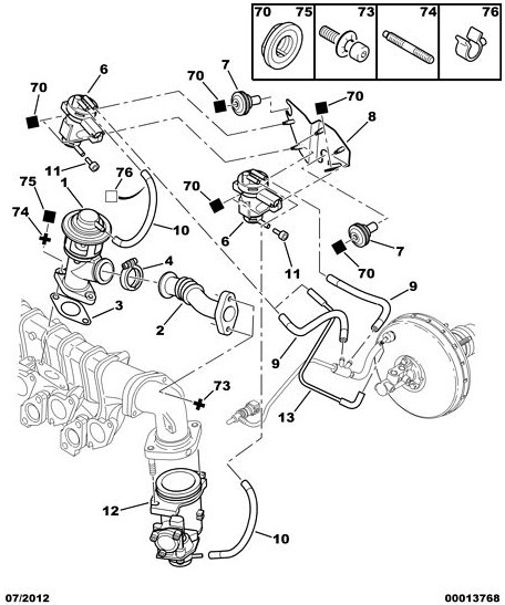 2000  peugeot 206 2 0 hdi engine power loss