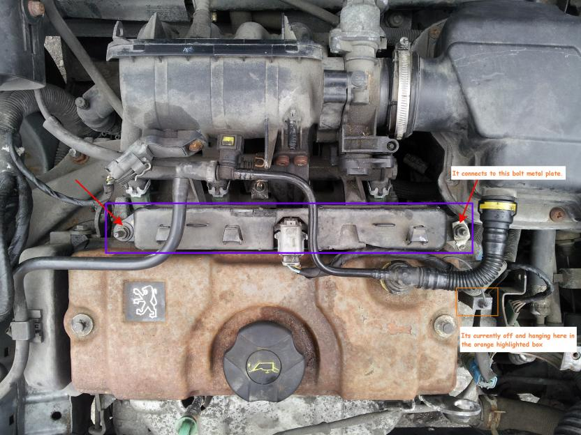 2362d1332419388 coil pack earth connector peugeot2 coil pack earth connector??? peugeot forums peugeot 206 coil pack wiring diagram at fashall.co