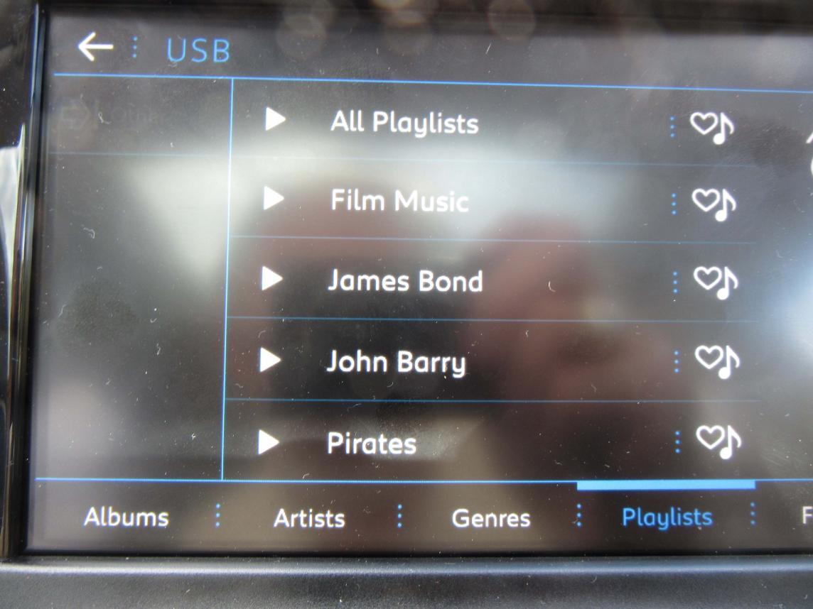 USB Media Playlists - Peugeot Forums