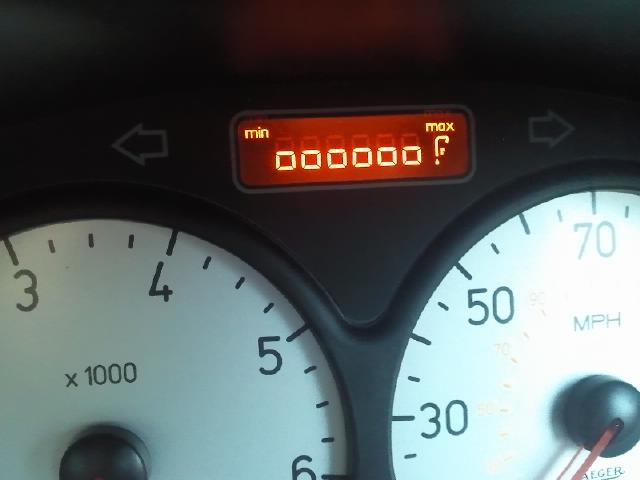 206 ------f on the dash - peugeot forums