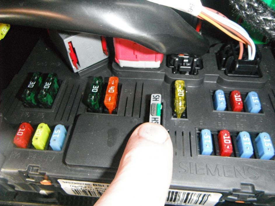 blown fuse peugeot forums rh peugeotforums com