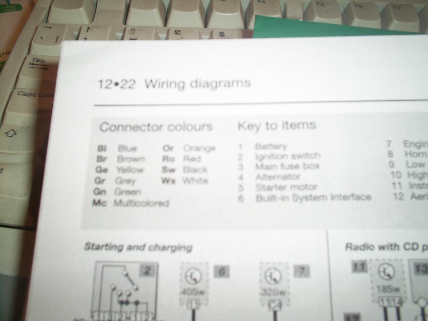 307 Sw  2007  Rd4 Radio Wiring Diagram