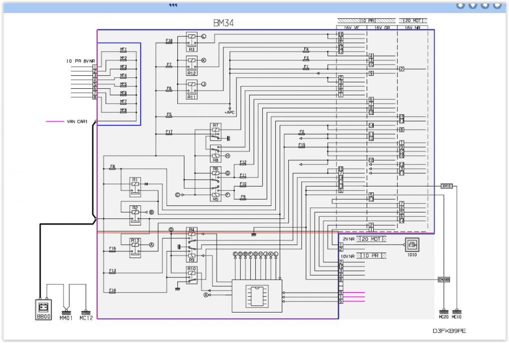 Peugeot Wiring Schematic