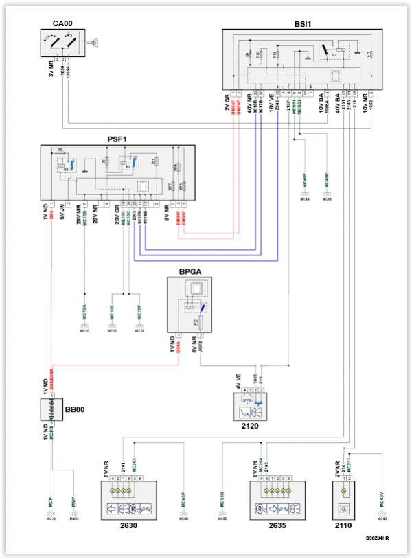 Wiring Diagram Page 2 Peugeot Forums