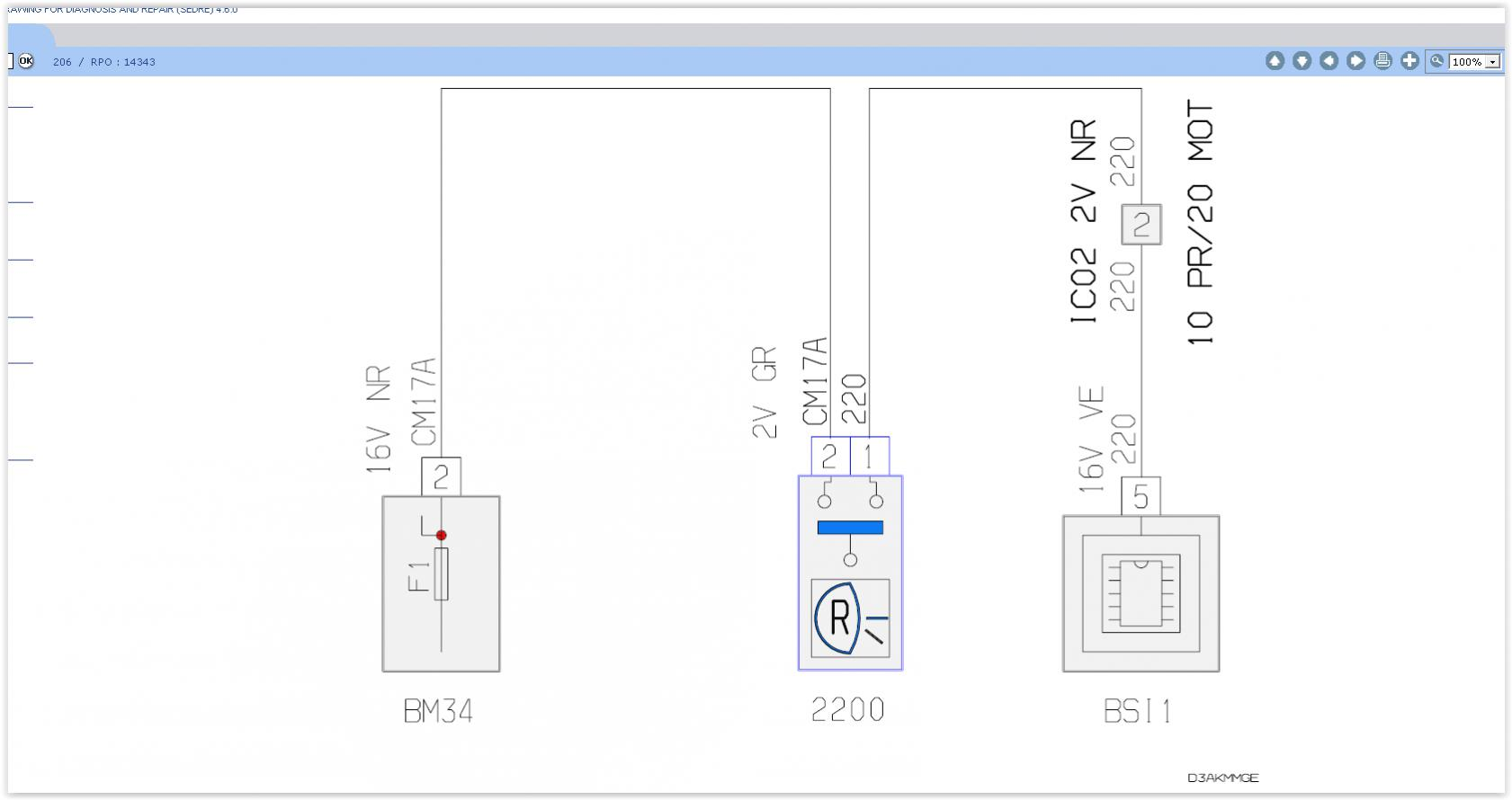 Reverse Lights Not Working Peugeot Forums E7 Fuse Box Location Screen Shot 03 01 18 10 06
