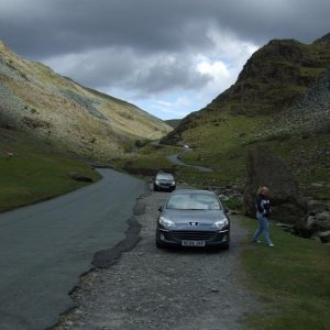 Honister Pass,lake district